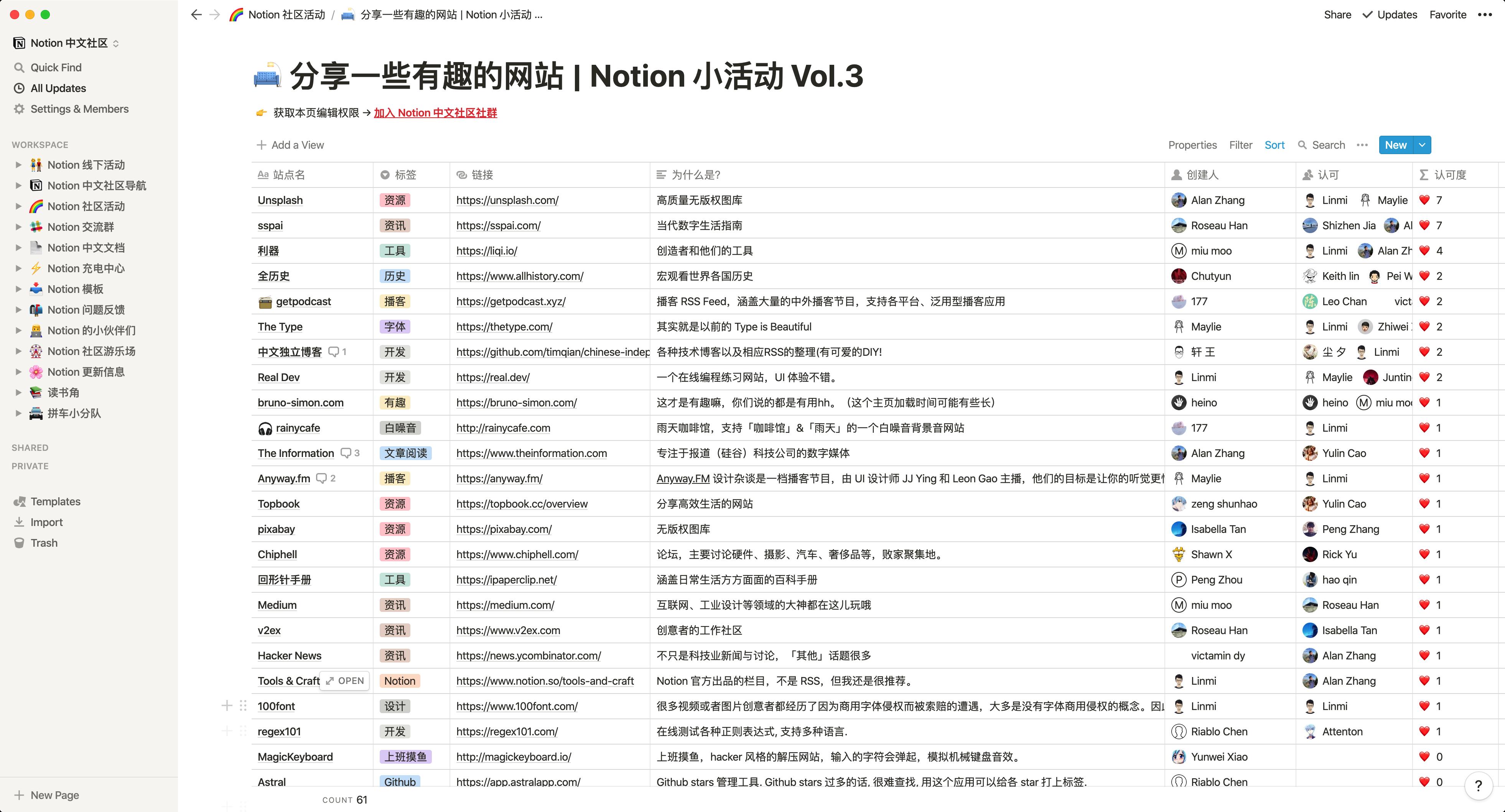 加入 Notion 中文社区社群-Linmi