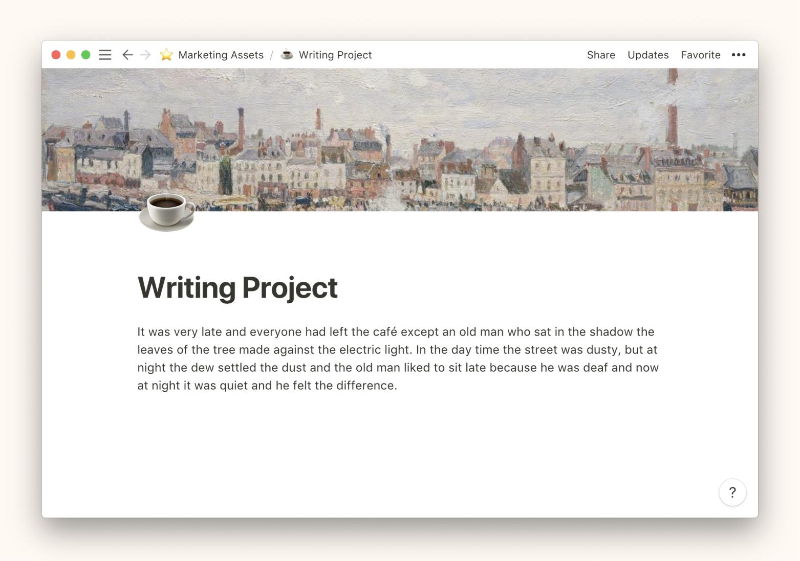 Notion 如何创建新页面-Linmi