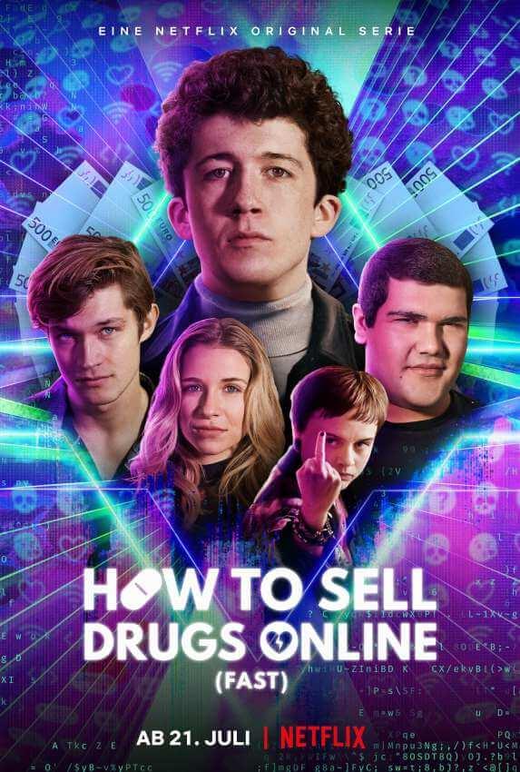 如何在网上卖迷幻药 (更新 第2季全6集)