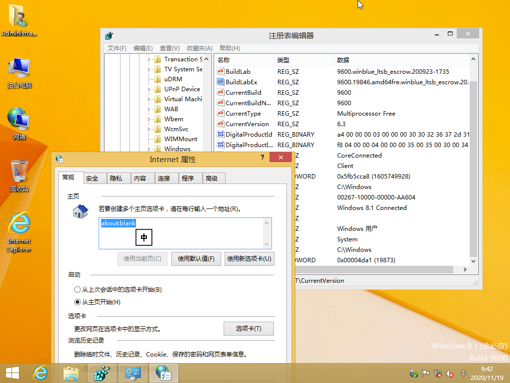 【YLX】Windows 8.1 9600.19873 UPDATE3 BING x64 FAST 2020.11.18